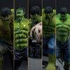 The Incredible Hulk Figure (Set of 5)