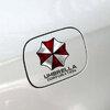 สติ๊กเกอร์แปะฝาถังน้ำมันรถ Resident Evil 13x12 CM ตัวอักษรดำ