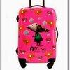 กระเป๋าเดินทางแฟชั่น INANNA ล้อลาก 20นิ้ว สีชมพู