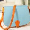 กระเป๋าแฟชั่นAxixi สีฟ้า-ส้ม สไตล์สาวหวาน เหมาะกับสาว ๆ วัยใส น่ารัก สะพายเท่ ๆ สวยไม่มีเอาท์