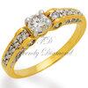 แหวนเพชร Victoria สีทอง