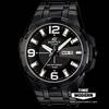 นาฬิกา คาสิโอ Casio Edifice 3-Hand Analog รุ่น EFR-104BK-1AVDF