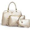 กระเป๋าเซต 3 ใบ สีครีม ทรงสวย ดีไซน์ เรียบหรู น่าใช้มากๆค่ะ