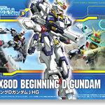 HG GPB08 1/144 Beginning D Gundam 1600y