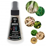 Press it! Breeze - Pre Poop Toilet Spray - Freshen the Air Before and After you go Toilet, 2oz