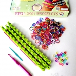 DIY Arts and Crafts for Girls- Best Birthday/Christmas Gifts/Toys for Kids - Premium Bracelets Maker/Jewelry Making Kits- Strongest Loom and Can Be Modified- Long Lasting Silicone Bands Rainbow Colors