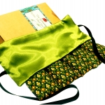 Eye Mask - P&F Relaxing Thai Herbal Filled Yoga Mask/Hot or Cold for Stress,Headache, Migraine,Sinus Relief (Lemongrass)