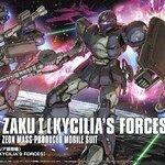 :HG Origin18 1/144 Zaku I (Kycilia`s Forces) 1700yen