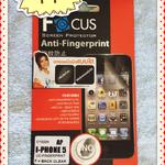 ฟิล์มกันรอย แบบใส ไอโฟน 5 ยี่ห้อ Focus ลดรอยนิ้วมือ