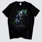 เสื้อยืด Black Panther (แบล็ค แพนเธอร์)