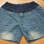 กางเกงยีนต์ขาสั้นคนท้อง มีผ้ารองรับหน้าท้อง มีสายปรับที่เอว ผ้ายีนต์นิ่ม ใส่สบายค่ะ