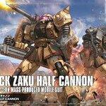 HG Origin20 1/144 Zaku Half Cannon 1800yen