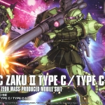 HG Origin16 1/144 MS-06 Zaku II Type C / C5 1,800Yen