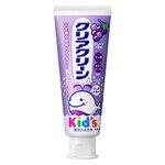 Clear clean Kids Grape ยาสีฟันของเด็กจากญีุ่่ปุ่นรสองุ่น สำหรับเด็กอายุ 2 ปีขึ้นไปจนถึงเด็กโตค่ะ เป็นรุ่นยอดนิยมที่คนญี่ปุ่นนิยมใช้กันอย่างแพร่หลาย มีฟลูออไรด์ในปริมาณที่เด็กต้องการเพื่อป้องกันฟันผุค่ะ 70g. Made in Japan