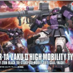 HG Origin03 1/144 Zaku II Black Tri-Star High Mobility Type [Gundam The Origin] 2000y