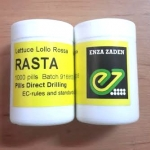 lettuce lollo rossa (RASTA) enza zaden 1000 pills (เคลือบ)