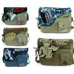 กระเป๋าสะพายข้างลาย Anime & Game (มีให้เลือก 9 แบบ)