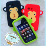 เคสซิลิโคน Samsung Galaxy Y S5360 ลายลิง