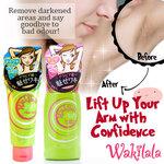 เซ็ทคู่Wakilala Bright up essence + Clear Wash Peeling ช่วยให้รักแร้ให้ขาว ขจัดผิวขรุขระ ตุ่มต่างๆให้เรียบเนียน ลดจุดด่างดำ กระชับรูขุมขน ช่วยผลัดเซลผิวใหม่ กำจัดกลิ่นไม่พึงประสงค์