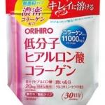 ORIHIRO ฮีอะรูรอน + คอลลาเจนผสมผสานเซรามายสูงสุดถึง 11,000 mg เพียง 7 วันผิวจะเนียนเรียบริ้วรอยจางลง เอ๊าะลงเห็น ๆ