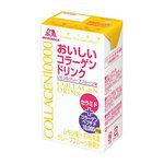 แยกขาย 1กล่อง/ยอดขายทะลุ 80 ล้านกล่องที่ญี่ปุ่น MORINAGA COLLAGEN Lemon & grapefruit Drink 10,000 mg คอลาเจนเปปไทด์โมเลกุลต่ำชนิดน้ำรสมะนาวผสมส้มโอชนิดกล่องพร้อมใสเด้งไว เนียนนุ่มผิวอ่อนเยาว์กว่าอายุจริง ไม่ทำให้อ้วนนะคะเพราะซูการ์ฟรี หอมรสโมโม่สุดๆคนญี่ป