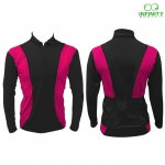 Bike Long sleeve Zip & T neck