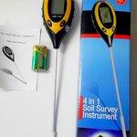 pH Meter สำหรับวัดค่าในดินและวัสดุปลูกทุกชนิด