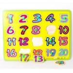 กระดานตัวเลข 1-20