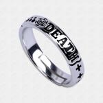 แหวนเงินแท้วันพีช ทราฟาลก้า ลอว์ Trafalgar law Ring