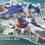 HGBD00 1/144 Gundam 00 Diver 1000yen Special Price