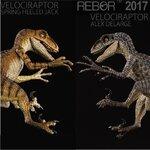 REBOR : VELOCIRAPTOR - ALEX DELARGE (มีให้เลือก 2 แบบ)