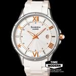 นาฬิกา Casio Sheen 3-hand analog รุ่น SHE-4024-7AD