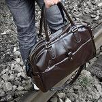 กระเป๋าแฟชั่นผู้ชาย MMG สี Coffee ใบใหญ่หนังนิ่ม คลาสสิค ทันสมัย เรียบเท่ งานคุณภาพดี