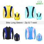 Bike Long sleeve Zip & Tneck (XXL)