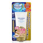 Rohto Skin Aqua Super Moisture Essence Sunscreen SPF50 + PA +++ ครีมกันแดดผสมเอสเซ็นต์สำหรับใบหน้าและร่างกายด้วยไมโครแคปซูลห่อและดูดรังสีอัลตราไวโอเลตไม่ให้ดูดแสงแดดเข้าผิวพร้อมมอบความชุ่มชื้นด้วยซุปเปอร์ไฮยาลูรอน, กรดไฮยาลูโรนา, กรดอะมิโน (arginine), คอล