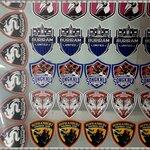 รับผลิตเฟล็กตามสั่ง โลโก้ทีมและเบอร์ทีมชื่อนักเตะ THAI PREMIER LEAGUE