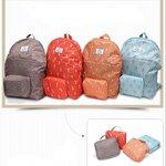 กระเป๋าเป้ ใส่เสื้อผ้า ของใช้ต่างๆ เดินทางท่องเที่ยว สามารถพับเก็บได้