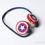 หูฟัง GEEKERY Captain America Earphone (กัปตันอเมริกา) **ของแท้ลิขสิทธิ์**