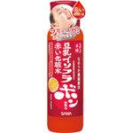 SANA Japan Nameraka Honpo Soy Isoflavone Astaxanthin Moisturizing Lotion โลชั่นเช็ดหน้า(น้ำตบหน้า)น้ำใสสีแดงจากเอสโตรเจนบำรุงผิวหน้าช่วยลดการสะสมของไขมันและเพิ่มมวลกล้ามเนื้อให้หนาแน่นขึ้นผิวหน้ากระชับไม่หย่อยคล้อยและAstaxanthin สารสีแดงเพื่อคงผิวสวยอ่อนเ