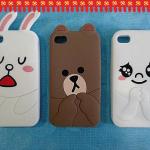 Sticker line case แสนน่ารักมาแย้ววว >< -iPhone4,4S