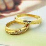 แหวนคู่ แหวนหมั้น แหวนแต่งงาน TSR157G&TSR158G