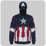 เสื้อคอสเพลย์กัปตันอเมริกา Captain America 3 รุ่น 2016