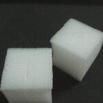 ฟองน้ำก้อนใหญ่เนื้อละเอียด รุ่น G8 ขนาด1.5*1.5 สูง 1.5 นิ้ว 10 แผ่น