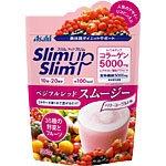 การันตรี 3 อาทิตย์พุงยุบผอมผิวเด้งชุ่มชื้น!!!!!Asahi slim up slim รสสมูตตี้ผลไม้รวม Red smoothie 300g ลดหุ่นผิวเต่งตึงด้วยคอลลาเจนพร้อมไฮยารูรอน 5,000 mg