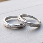 แหวนคู่ แหวนหมั้น แหวนแต่งงาน TSR157&TSR158