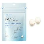 30 วัน - Fancl Moist hyaluronic acid อาหารเสริมนาโนไฮยารูรอนผสมผสานเซลามายโมเลกุลต่ำผิวชุ่มชื้นไม่แห้งผิวอ่อนเยาว์ ป้องกันแดด ผิวฟูอุ้มน้ำ แก้ม2ข้างจะฟูนุ่มเติมร่องลึกได้ดีค่ะ