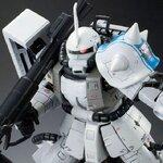 :P-bandai:RG 1/144 MS-06R-1A ZakuII Shin Matsunaga 3240yen