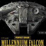 ล็อตที่2 Pre_Order:(ล็อต JP) P-bandai:Perfect Grade: 1/72 Millionium Falcon 43200yen สินค้าเข้าไทยประมาณเดือน10 มัดจำ 7000บาท