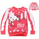 เสื้อกันหนาว หรือ เสื้อคลุม Kitty หัวใจ 5 ชุด/แพค *ส่งฟรี*