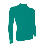 base layer สี Blue green